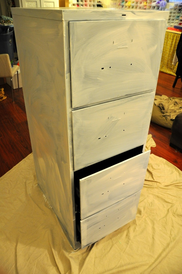 how to build a file cabinet