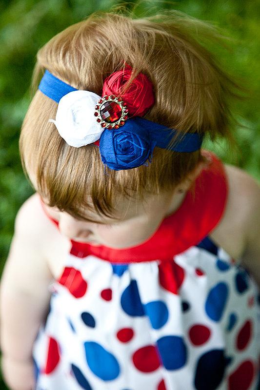 Fourth of July DIY Stretch Headband