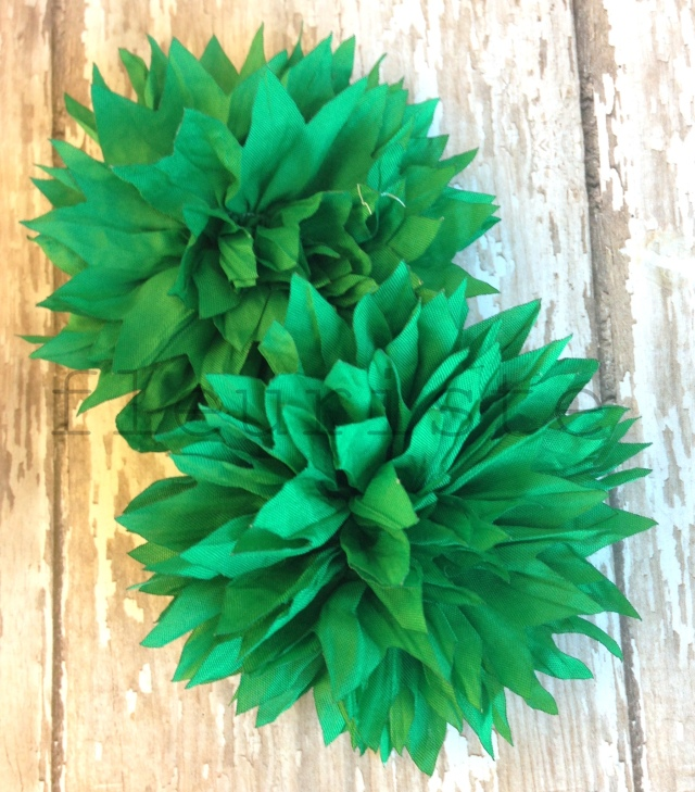 spiked chiffon flower